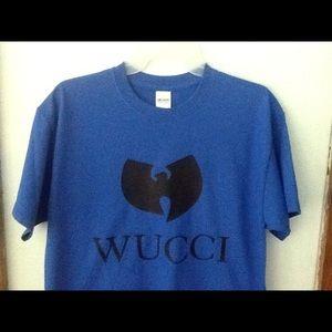 """Wu Tang """"Wucci"""" T-shirt."""